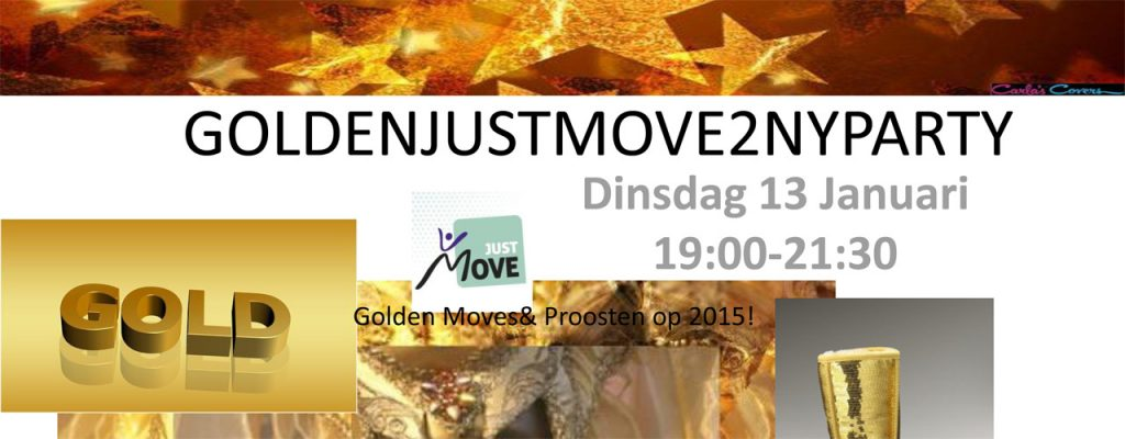 Golden JustMove 2 NewYear Party
