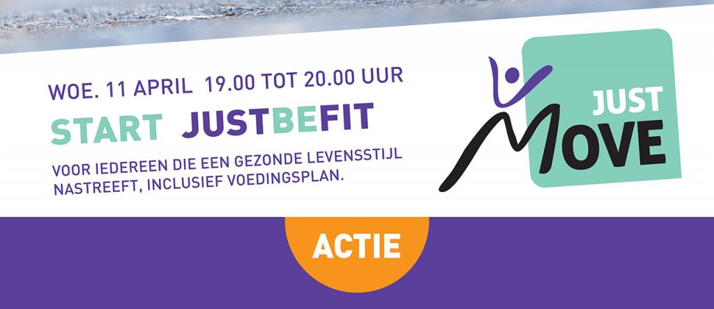 JustBeFit 2018 gaat bijna starten. Doe je ook mee?